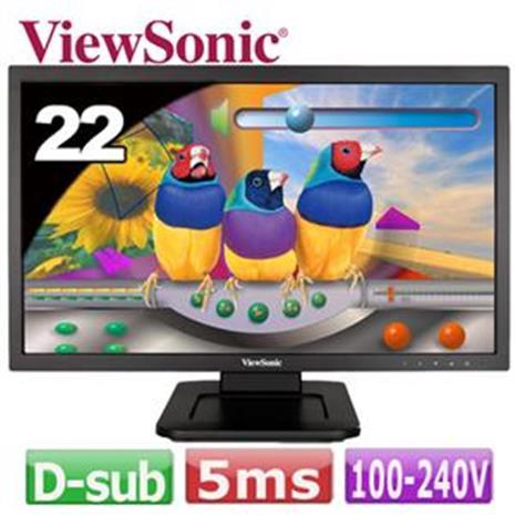 ViewSonic優派 22 型光學觸控螢幕 TD2220-2