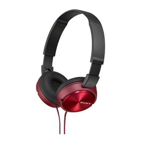 SONY 無麥耳罩式耳機 MDR-ZX310-R 紅