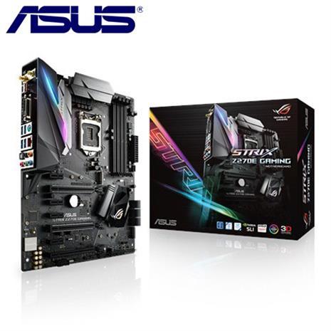 ASUS華碩 ROG STRIX Z270E GAMING 主機板-數位筆電.列印.DIY-myfone購物