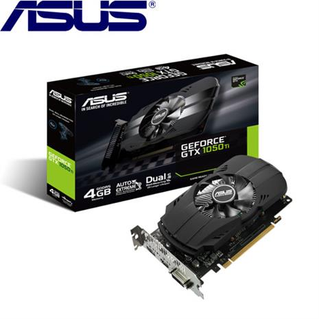 ASUS華碩 GeForce PH-GTX1050TI-4G 顯示卡