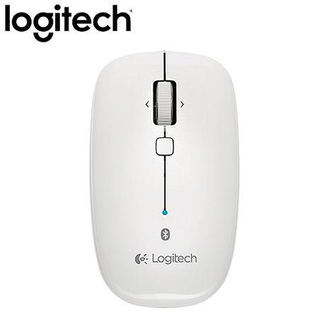 【2月精選-滿千送披薩卷】Logitech羅技 M557 Bluetooth Mouse 藍芽滑鼠 白色(藍芽/光學技術/四向滾輪)