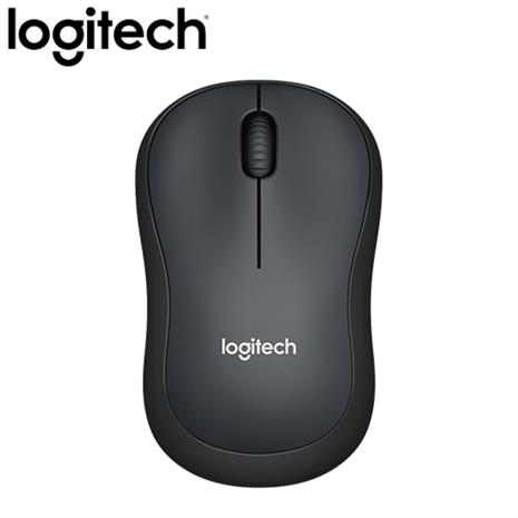 Logitech 羅技 M221 靜音無線滑鼠 黑