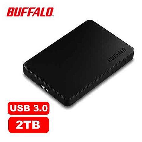 【2月精選-限時特惠】BUFFALO HD-PCF2.0U3BD 2.5吋 2TB -黑