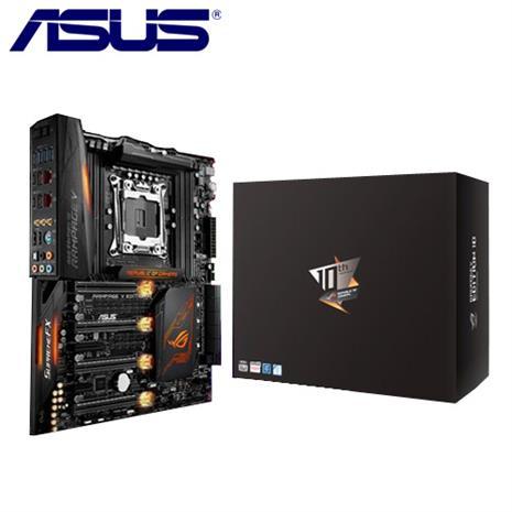 ASUS華碩 RAMPAGE V EDITION 10 主機板-數位筆電.列印.DIY-myfone購物