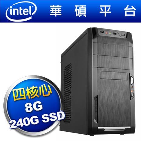 華碩平台【亂武刺客】四核效能SSD電腦-數位筆電.列印.DIY-myfone購物