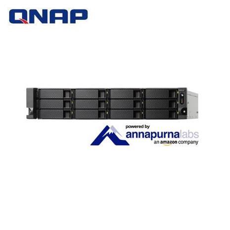 QNAP威聯通 TS-1231XU-RP-4G 12Bay網路儲存伺服器-3C電腦週邊-myfone購物