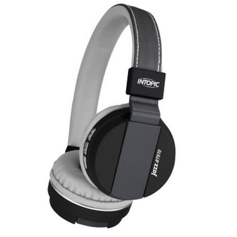 INTOPIC 廣鼎 藍牙摺疊耳機麥克風 JAZZ-BT970-GR
