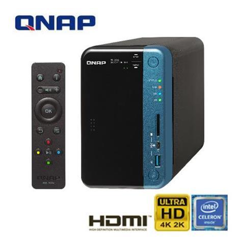 QNAP 威聯通 TS-253B-4G 2Bay網路儲存伺服器