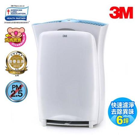 【3M】淨呼吸超濾淨型進階版6坪空氣清淨機CHIMSPD-01UCRC-1