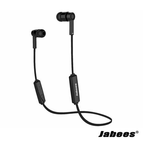 Jabees OBees 藍芽立體聲運動型耳機(黑色)