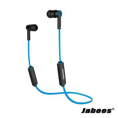 Jabees OBees 藍芽立體聲運動型耳機(藍色)