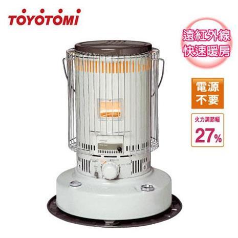 ◤日本製◢TOYOTOMI【6.3公升】傳統型煤油爐 8-12坪適用 (KS-67H)