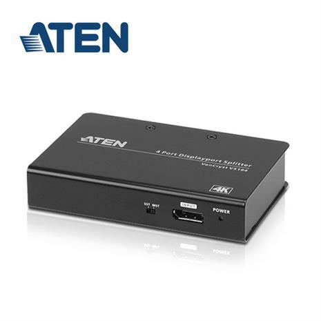 ATEN宏正 4埠4K DisplayPort分配器 VS194-AT-A