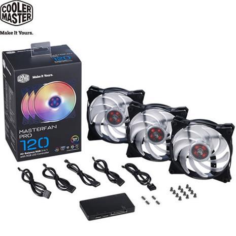 Cooler Master RGB LED 控制器與氣流平衡扇三合一組合包