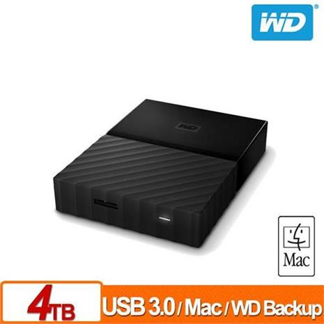 WD My Passport for Mac 4TB 2.5吋行動硬碟(WESN)