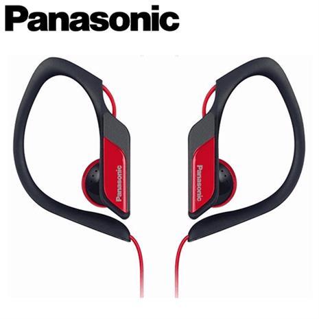 Panasonic 國際牌 RP-HS34 運動專用耳掛耳機 紅