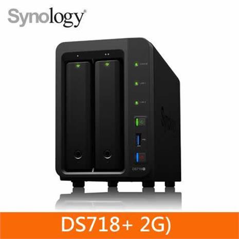 Synology DS718+ 網路儲存伺服器
