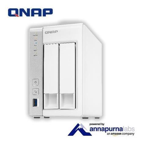 QNAP 威聯通 TS-231P2-1G 2Bay網路儲存伺服器