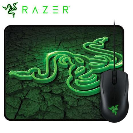 Razer 雷蛇 Abyssus 地獄狂蛇滑鼠 2000dpi + 重裝甲蟲 控制版 英文版