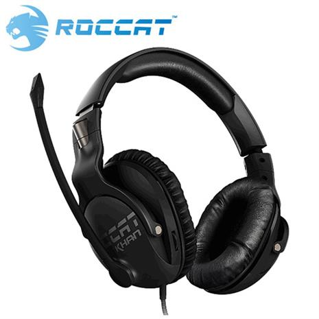 ROCCAT 冰豹 KHAN PRO 悍音系列 專業版高解析電競耳機 黑