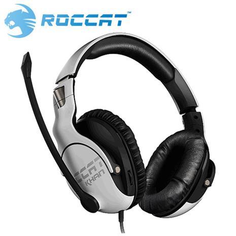 ROCCAT 冰豹 KHAN PRO 悍音系列 專業版高解析電競耳機 白