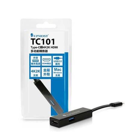 Uptech TC101 Type-C轉4K2K HDMI多功能轉換器