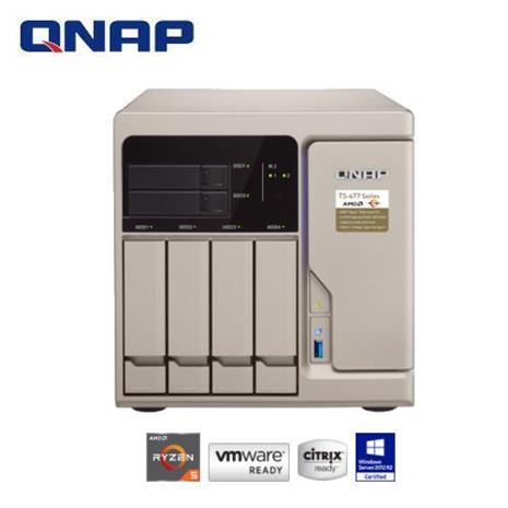QNAP 威聯通 TS-677-1600-8G 6Bay 網路儲存伺服器