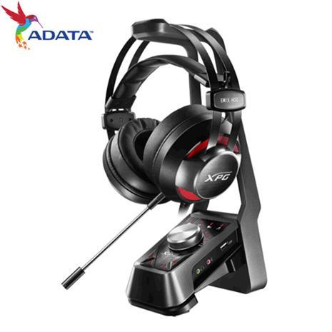 ADATA 威剛 電競耳機組 (電競耳機+耳機架+7.1聲道音訊擴大器)