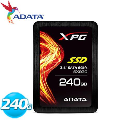 ADATA威剛 XPG SX930-240GB SSD 2.5吋固態硬碟
