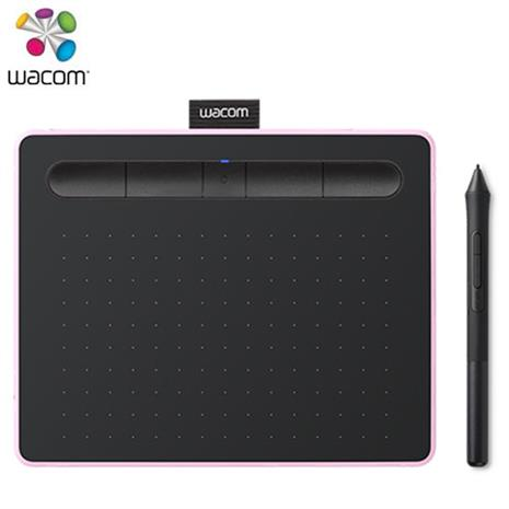 Wacom Intuos Comfort Small 藍牙版 繪圖板 粉 (小)