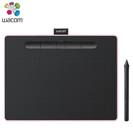 Wacom Intuos Comfort Plus Medium 藍牙版 繪圖板 粉 (中)