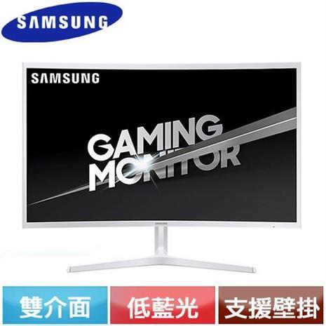 SAMSUNG三星 C32JG51FDE  32型 VA曲面螢幕