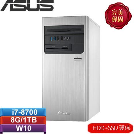 ASUS華碩 H-S640MB-I78700010T 桌上型電腦