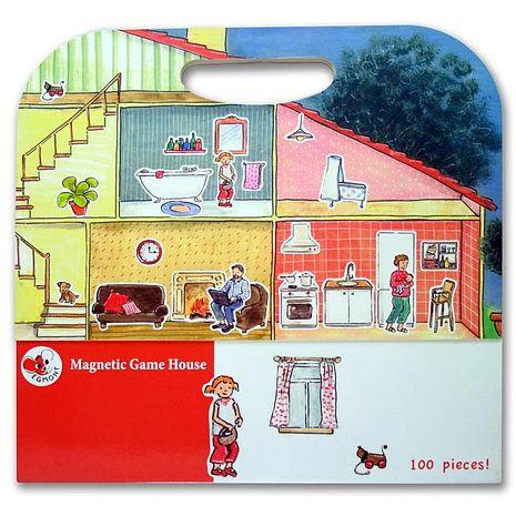 【Babytiger虎兒寶】比利時 Egmont Toys 艾格蒙繪本風遊戲磁貼書 - 快樂家庭~特賣