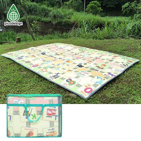 【Babytiger虎兒寶】Pico design 皮可設計無毒地墊 - Smart ABC 會說話的野餐墊 互動學習遊戲墊 露營墊-特賣