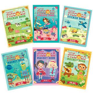 Babytiger虎兒寶 遊戲書系列TIGER TRIBE 遊戲磁鐵口袋書 - 【超值6本組】~特賣