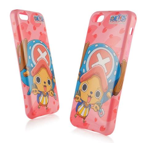 ONE PIECE 航海王iPhone 5 / 5s / 5c 時尚彩繪保護套-櫻花新世界喬巴