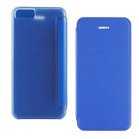 Miravivi iPhone 5c 繽紛糖果色薄型側開皮套-寶石藍