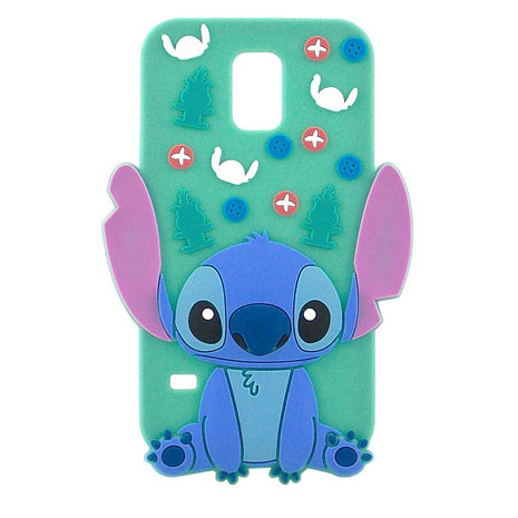 Disney Samsung Galaxy S5 Stitch史迪奇全身2D立體保護套