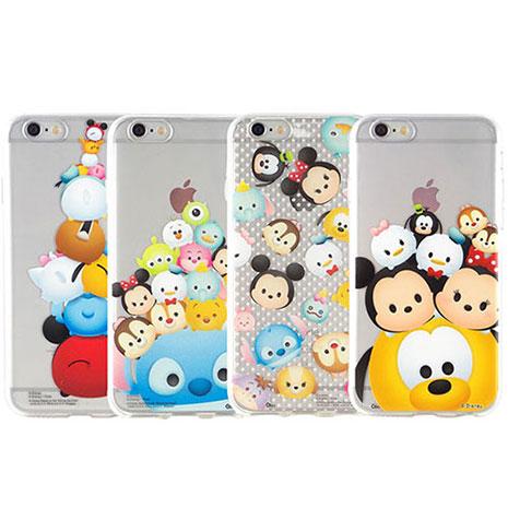 Disney iPhone 6s/6 TSUM TSUM可愛透明保護軟套-手機平板配件-myfone購物