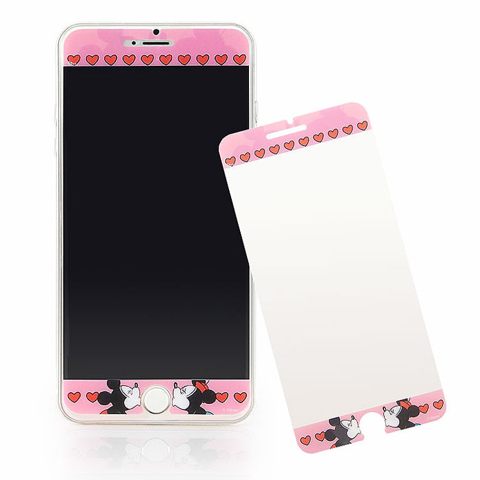 Disney  iPhone 6s Plus/6 Plus 彩繪保護貼-LOVE-手機平板配件-myfone購物