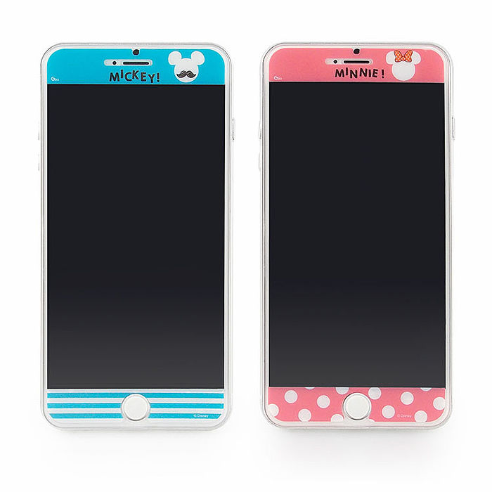 Disney iPhone6/6s Plus 彩繪保護貼-現代風系列-手機平板配件-myfone購物