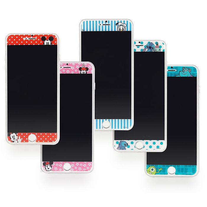 Disney iPhone6/6s Plus 彩繪保護貼-哈囉系列-手機平板配件-myfone購物