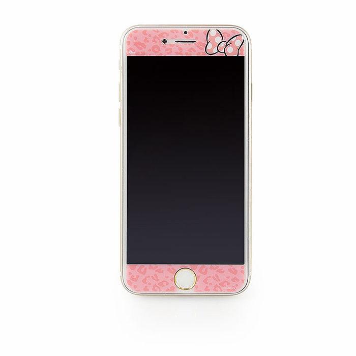 Disney iPhone 6s/6 彩繪保護貼-豹紋蝴蝶結-手機平板配件-myfone購物