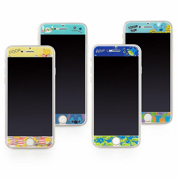 Disney iPhone6/6s 彩繪保護貼-俏皮系列-手機平板配件-myfone購物