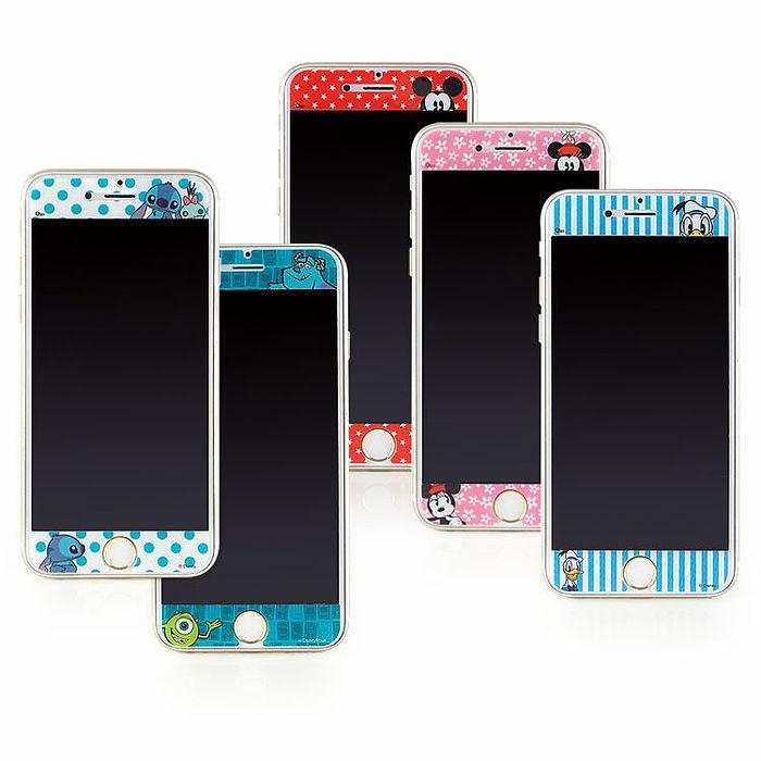 Disney iPhone6/6s 彩繪保護貼-哈囉系列-手機平板配件-myfone購物