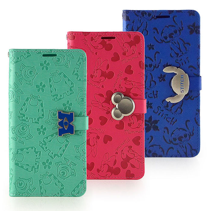 Disney HTC Desire 626 時尚亂花壓紋五金可立式皮套
