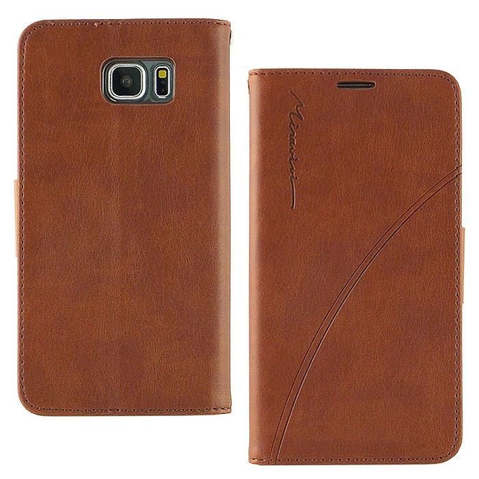 Miravivi Samsung Galaxy Note 5 時尚紳士壓紋側掀可立式皮套