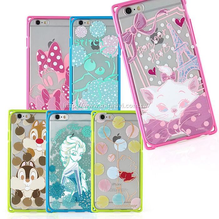 【Disney 】iPhone 6 / 6s 專業耐衝擊aprolink雙料保護殼-時尚系列維尼