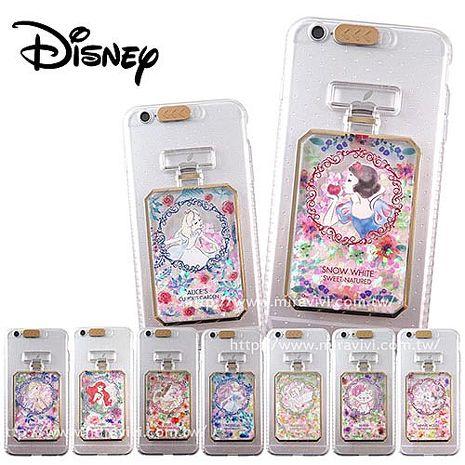 Disney迪士尼iPhone 6/6S(4.7吋)來電閃光香水造型手機殼白雪公主